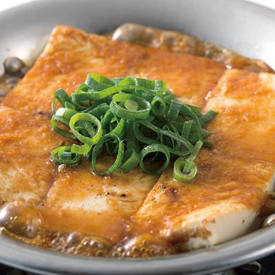 京豆腐のステーキ